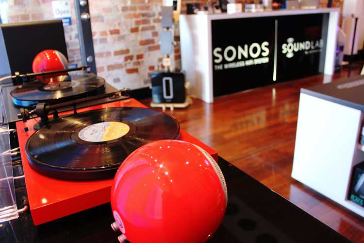 wireless sonos speakers