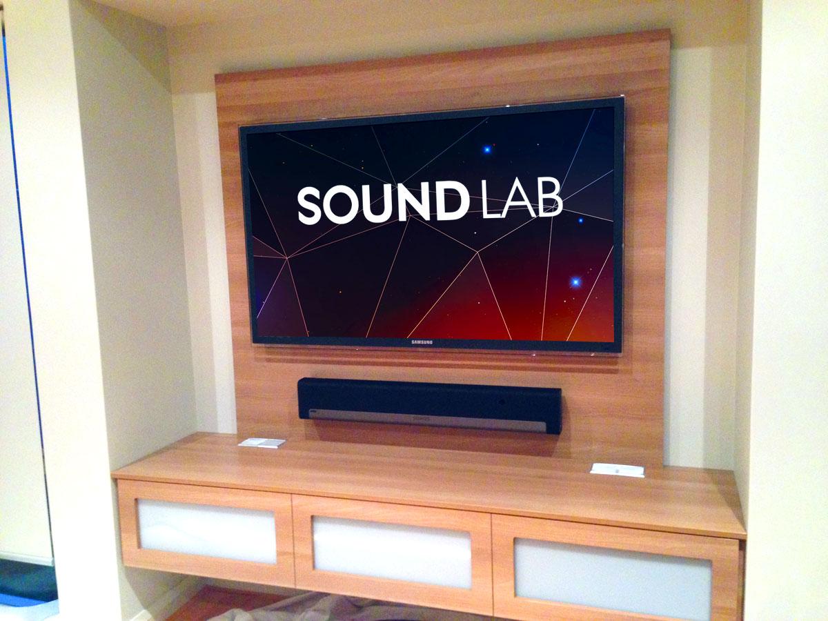 Sonos playbar system